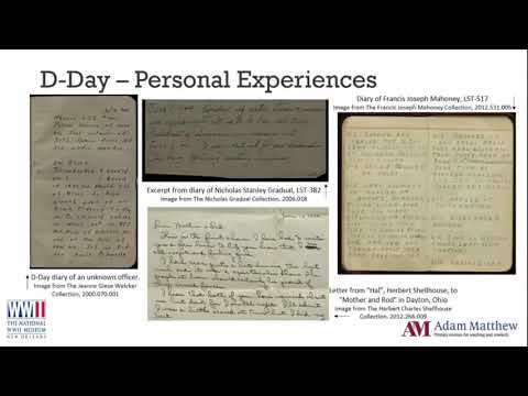 Reflections on the 75th Anniversary of D Day: The personal experiences of World War Two