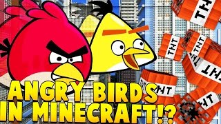 ANGRY BIRDS IN MINECRAFT?!   Angry Birds Movie Mod