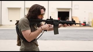 A review of the Tippmann airsoft HPA M4 gun. In both CO2 and HPA, this is a versatile M4 airsoft gun for advanced players. Uses standard paintball tanks. Che...