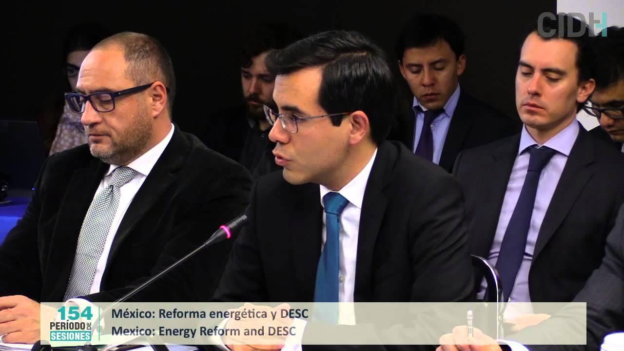 Reforma energ�tica y derechos econ�micos, sociales y culturales en M�xico