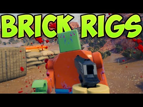 Brick Rigs - ZOMBIES AND GUNS!? - New Game Modes - HUGE UPDATE - Brick Rigs Gameplay Highlights