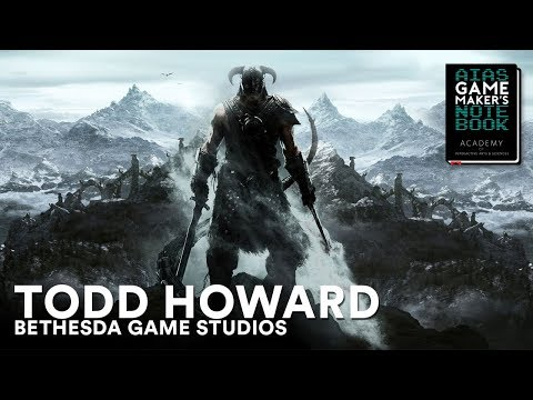 Todd Howard of Bethesda Game Studios - The AIAS Game Maker's Notebook