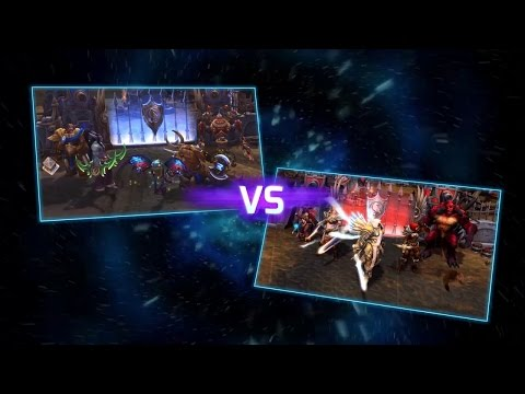 Heroes of the Storm Feature - Heroes as an eSport  Substituido en español