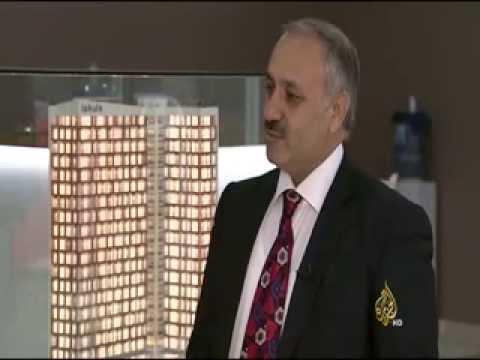 Mimar Hüseyin Karakaya Elcezire Arabia Tv'de