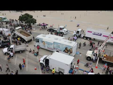 2017 Long Beach Touch-a-truck | Video By Justin Rudd!