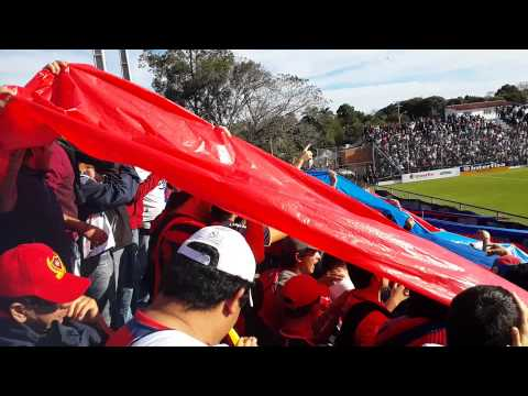 La hinchada de Cerro Porteño en Santani (CERRO EN HD) Clausura 2015 primera fecha - La Plaza y Comando - Cerro Porteño