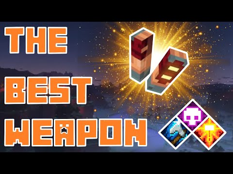 Minecraft Dungeons - THE BEST WEAPON In The Game!