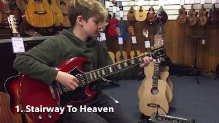 Video 10 Most Overplayed Riffs at Guitar Stores MP3, 3GP, MP4, WEBM, AVI, FLV Desember 2017