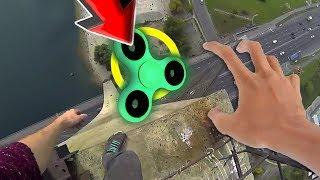 TOP 95 Ultimate Fidget Spinner CHALLENGE Video! (BEST Fidget Spinner Tricks DIY Toy VS Compilation)