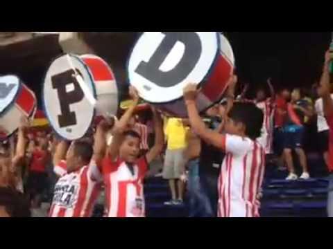 la banda del tiburon..!! #LBK - Frente Rojiblanco Sur - Junior de Barranquilla