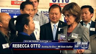 Suab Hmong News:  Rebecca Otto Seeks Re-Election for Minnesota State Auditor