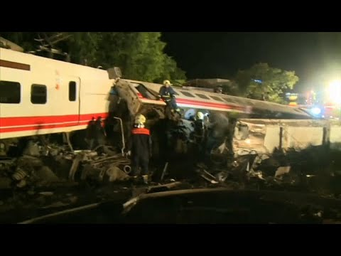 Tαϊβάν: Τουλάχιστον 22 νεκροί, 171 τραυματίες από τον εκτροχιασμό τρένου…