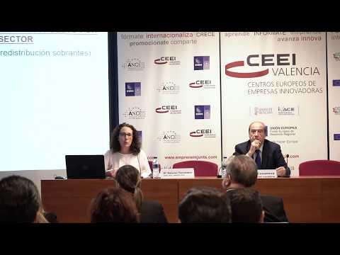 Mª Dolores Tarrazona, subdirectora general de Industria, en la jornada de ayudas de 2020 en CEEI Valencia[;;;][;;;]