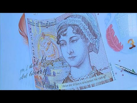 Στο χαρτονόμισμα των 10 λιρών η Τζέιν Όστεν