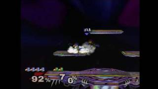 Mango using forward-b to end another game