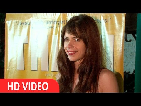 kalki koechlin At screening of kannada Film THITHI