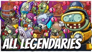 Video ALL Legendary Cards Challenge - Impfinity Strategy Deck| Plants vs Zombies Heroes Gameplay (6/22) MP3, 3GP, MP4, WEBM, AVI, FLV Agustus 2017