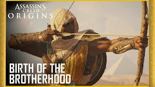 Assassin's Creed Origins: Birth of the Brotherhood 4K Trailer