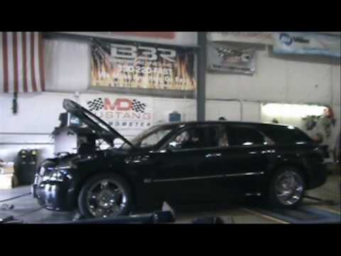Twin Turbo Hemi Dodge Magnum RT on Dyno @ Big 3 Racing