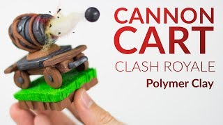 "Please watch: ""Lugia (Pokemon) – Polymer Clay Tutorial"" https://www.youtube.com/watch?v=15hHtHiKSuc-~-~~-~~~-~~-~-In this polymer clay tutorial we will create the CANNON CART from CLASH ROYALE!!I know, the next clash royale tutorial should have been the Balloon, but I got so many requests to create the cannon cart (and there is a challenge about it right now) that I decided to make this video first, the balloon will be finished by the end of the week :) How do you like the creation of the Canon Cart?? Let me know in the comments, also if you have some further ideas for new step by step videos.-----------------------------------------------------------LINKS:my CLAY ▸ http://amzn.to/2vHCqNrFinn (Adventure Time) ▸ https://youtu.be/-ocUaFKj6ZoLumberjack (Clash Royale) ▸ https://youtu.be/V8SESxD5r2oGiant ▸ https://youtu.be/EZdp52EDyd4-----------------------------------------------------------More ways to follow me:Instagram ▸ https://www.instagram.com/clayclaim/Snapchat  ▸ https://www.snapchat.com/add/clayclaimFacebook ▸ https://www.facebook.com/clayclaimTwitter ▸ https://twitter.com/ClayClaimEtsy ▸ stiiiillll coming soon…"