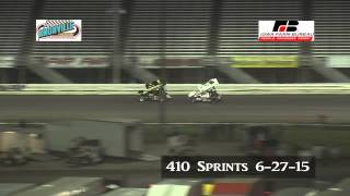 Knoxville 410 sprints 6-27-15