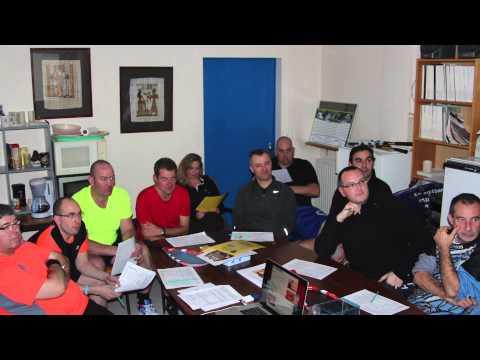 Speed badminton - La première formation animateur de club de la FSBCF