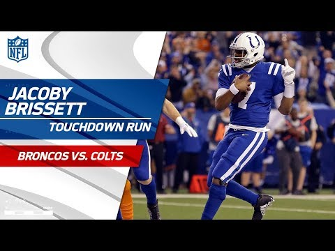 Video: Jacoby Brissett Marches In for a TD After Kenny Moore's Huge INT! | Broncos vs. Colts | NFL Wk 15