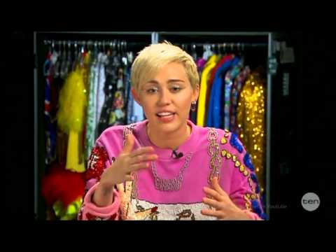 miley - Miley Cyrus is in Australia at the moment, Melbourne to be exact and here she is for her very first LIVE Australian Tv Interview. I happen to really like Mil...