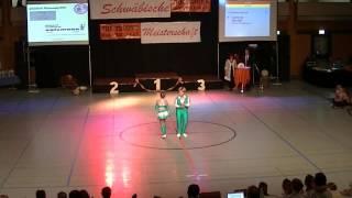 Laura Loy & Nils Zobl - Schwäbische Meisterschaft 2013