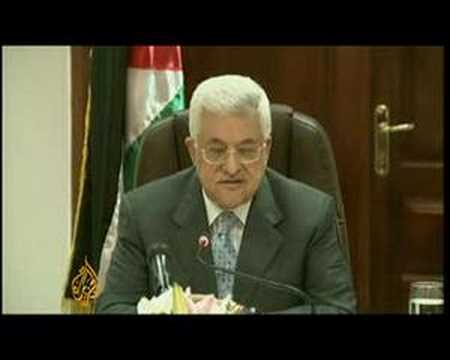 President Abbas calls for Palestinian reconciliation -5Jun08