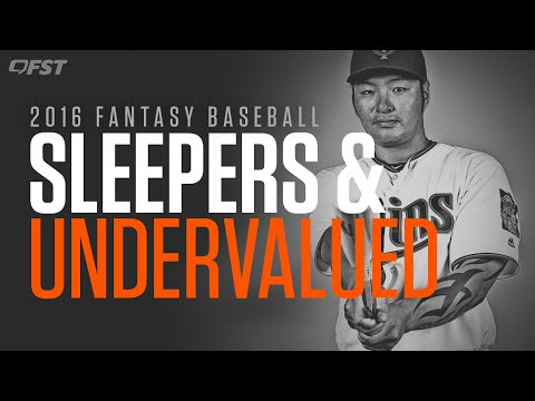 2016 Fantasy Baseball Sleepers and Undervalued thumbnail