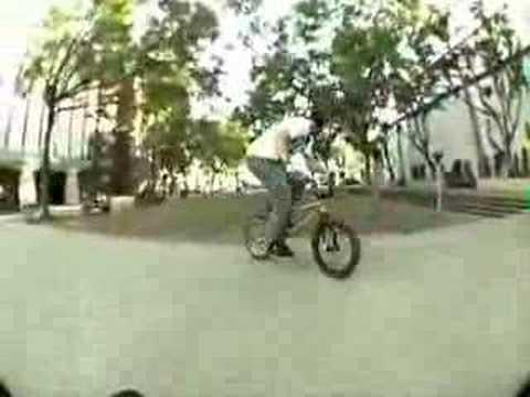 united bmx bike co - kye forte in cali