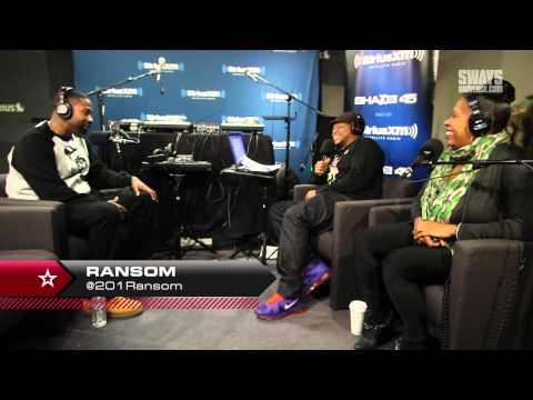 """Ransom Kicks a Freestyle & Speaks on New Album """"The Proposal"""" on Sway In The Morning"""