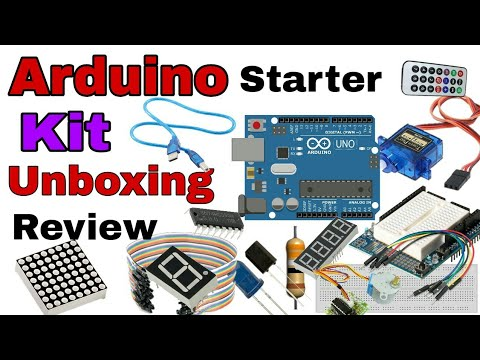 Arduino UNO R3 Starter Kit | Basic Arduino Learning Kit | Unboxing & Review | YK Electrical