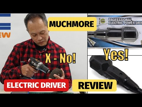 Muchmore Electric Power Driver Tool Review