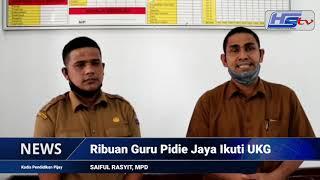Ribuan Guru di Pidie Jaya Ikuti Uji Kompetisi
