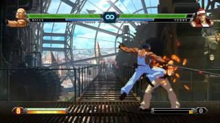 King of Fighters Wing videosu