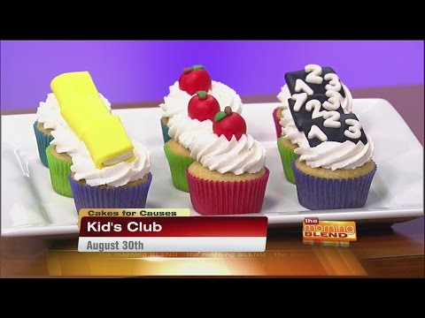 Cakes For Causes - Back To School Cupcakes