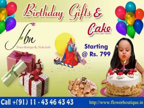 birthday flowers gifts online delivery in delhi India