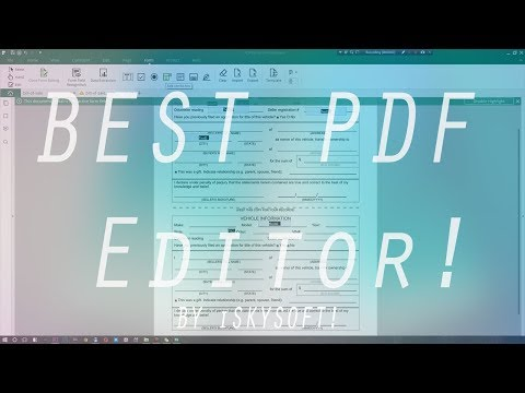 Fill Forms and Sign Contracts- iSkysoft PDF Editor Pro