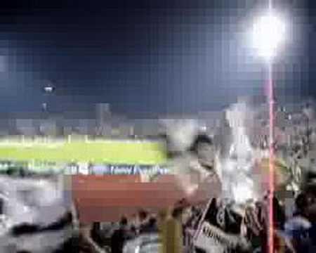 Estadio Friuli antes de un partido contra el Barcelona