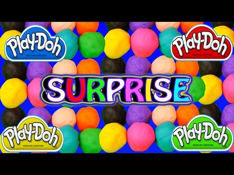 79 PLAY-DOH Surprise Eggs Squinkies Disney Cars 2 Toys Play Doh Egg Surprise Compilation Video
