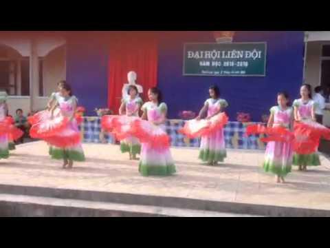 Đại hội liên đội trường thcs Thạch Lạc năm học 2015-2016