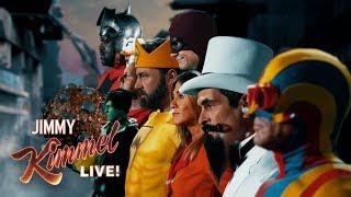 Video WORLD PREMIERE TRAILER – Jimmy Kimmel's The Terrific Ten MP3, 3GP, MP4, WEBM, AVI, FLV Juni 2018