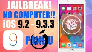 How to Jailbreak iOS 9.3.3 NO COMPUTER - PanGu iOS 9.3.2, 9.3.1, 9.3, 9.2.1, 9.2 SEMI-TETHERED (64-bit devices only)LINKS :Link 1 : http://bit.ly/2aagCizLink 2 : http://bit.ly/2aFi79kLink 3 : http://bit.ly/2abuPynAlternative : http://iosem.us/Check 32-bit or 64-bit : http://bit.ly/32or64bitcheckCompatible devices :iPhone 6siPhone 6s PlusiPhone 6iPhone 6 PlusiPhone SEiPhone 5siPad Pro (12.9-inch)iPad Pro (9.7-inch)iPad Air 2iPad AiriPad (3rd Generation )iPad (4th generation)iPad mini 4iPad mini 3iPad mini 2iPod touch (6th generation)__________________________________Subscribe : http://bit.ly/iSubscribeFacebook : http://bit.ly/iAJFBTwitter : http://bit.ly/iAJtwitter (or) @iAJOfficialInstagram : http://bit.ly/InstagramiAJThanks for Watching. Don't forget to Like and Subscribe!