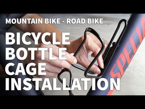 How to Install a Bike Bottle Cage on a Bike – Water Bottle Holder Installation for Mountain Bikes