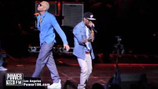 Chris Brown & Big Sean Perform (My Last) at Power106 Cali Christmas 2011