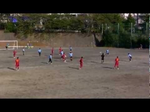 青葉マークス 2012.10.20 vs 鴨志田緑 前半1