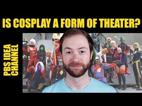 Je cosplay formou divadla?