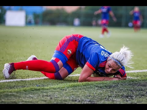 Травмы в женском футболе
